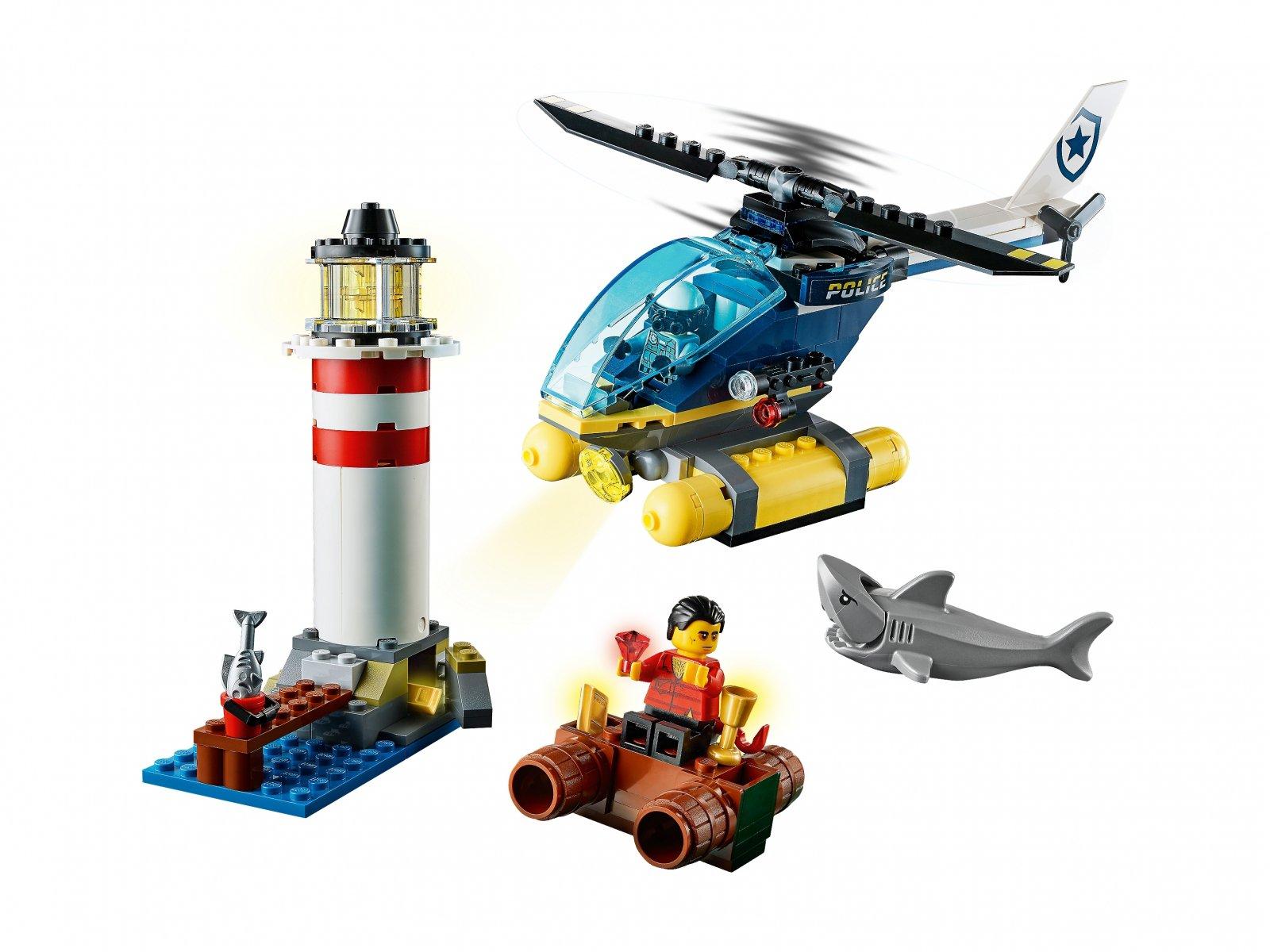 LEGO 60274 Policja specjalna i zatrzymanie w latarni morskiej