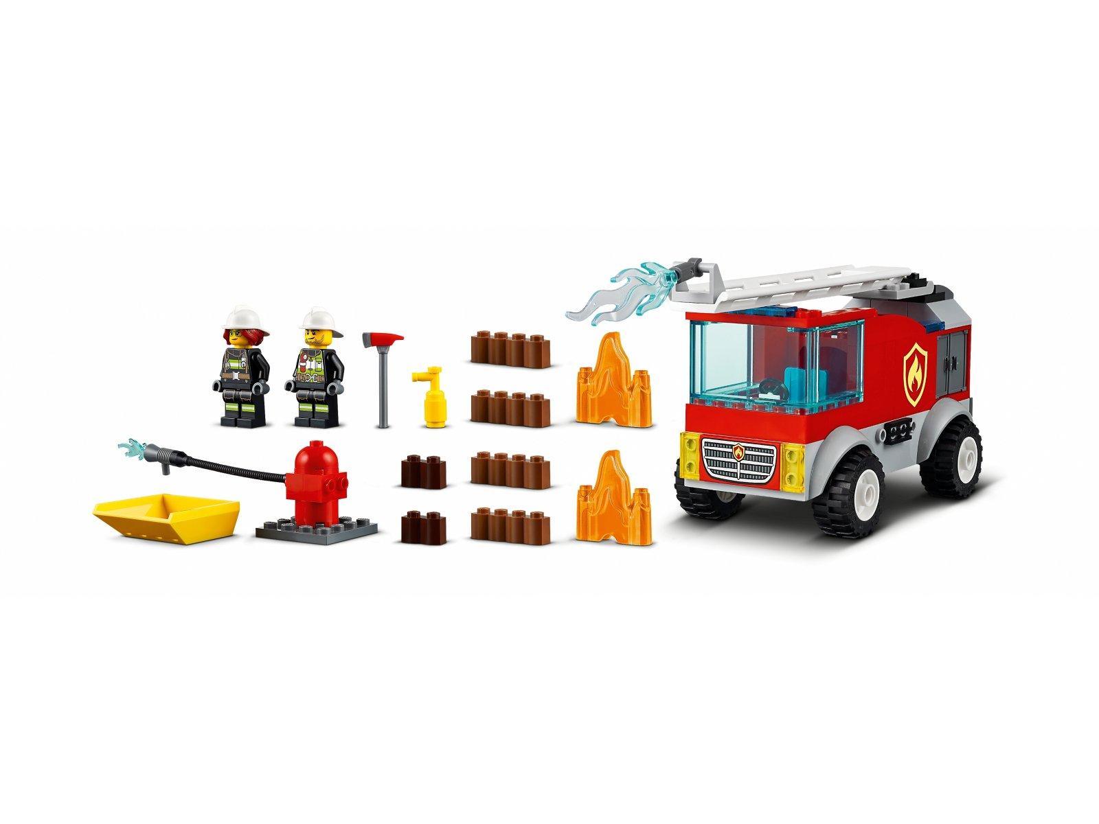 LEGO 60280 Wóz strażacki z drabiną