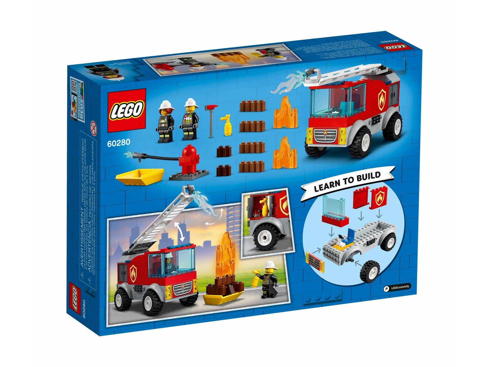 LEGO City Wóz strażacki z drabiną 60280
