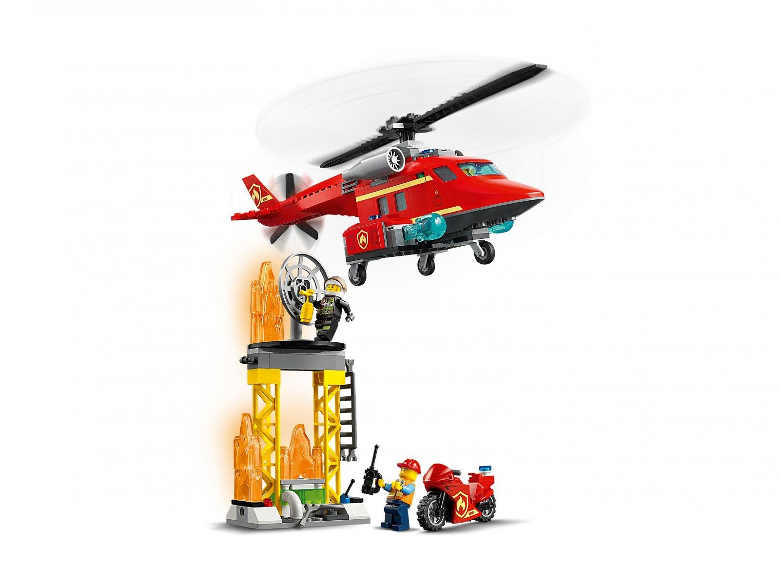 LEGO 60281 Strażacki helikopter ratunkowy