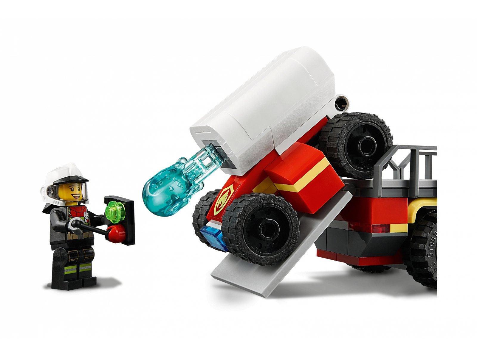 LEGO 60282 Strażacka jednostka dowodzenia