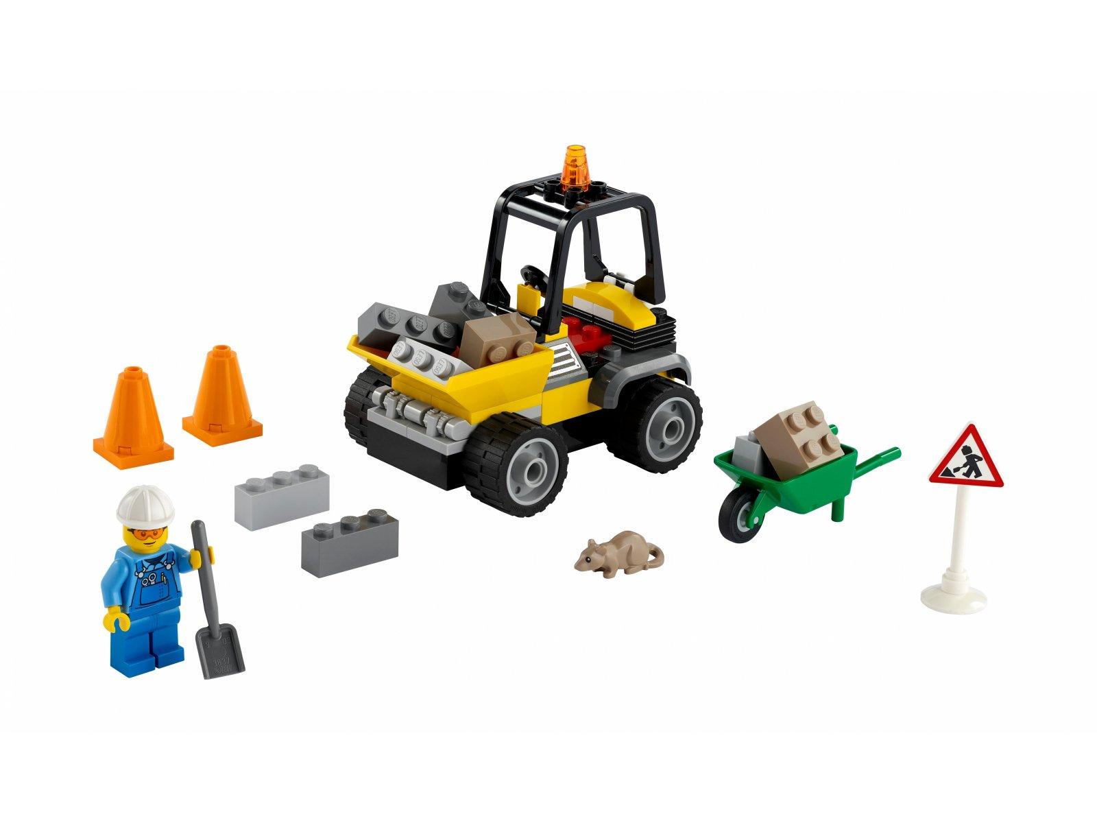LEGO 60284 City Pojazd do robót drogowych