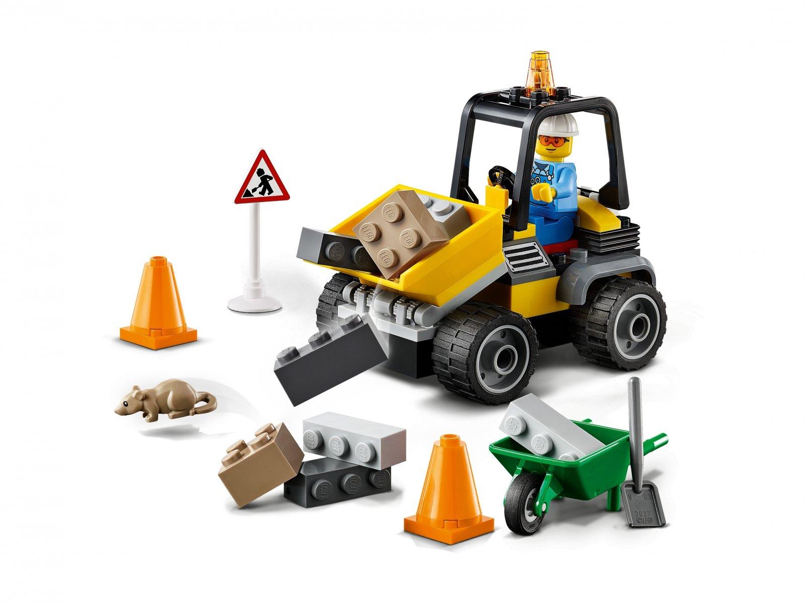 LEGO 60284 Pojazd do robót drogowych
