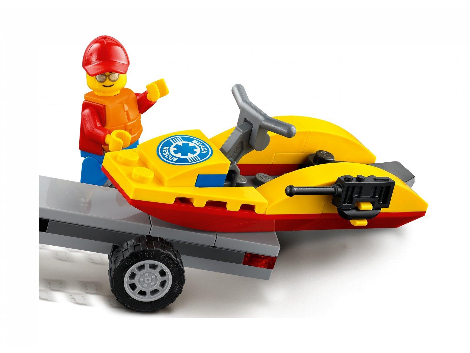 LEGO 60286 Plażowy quad ratunkowy