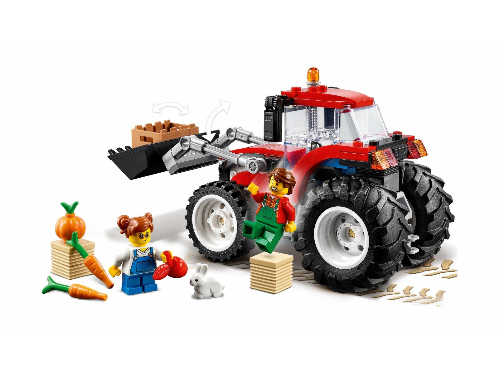 LEGO City Traktor 60287
