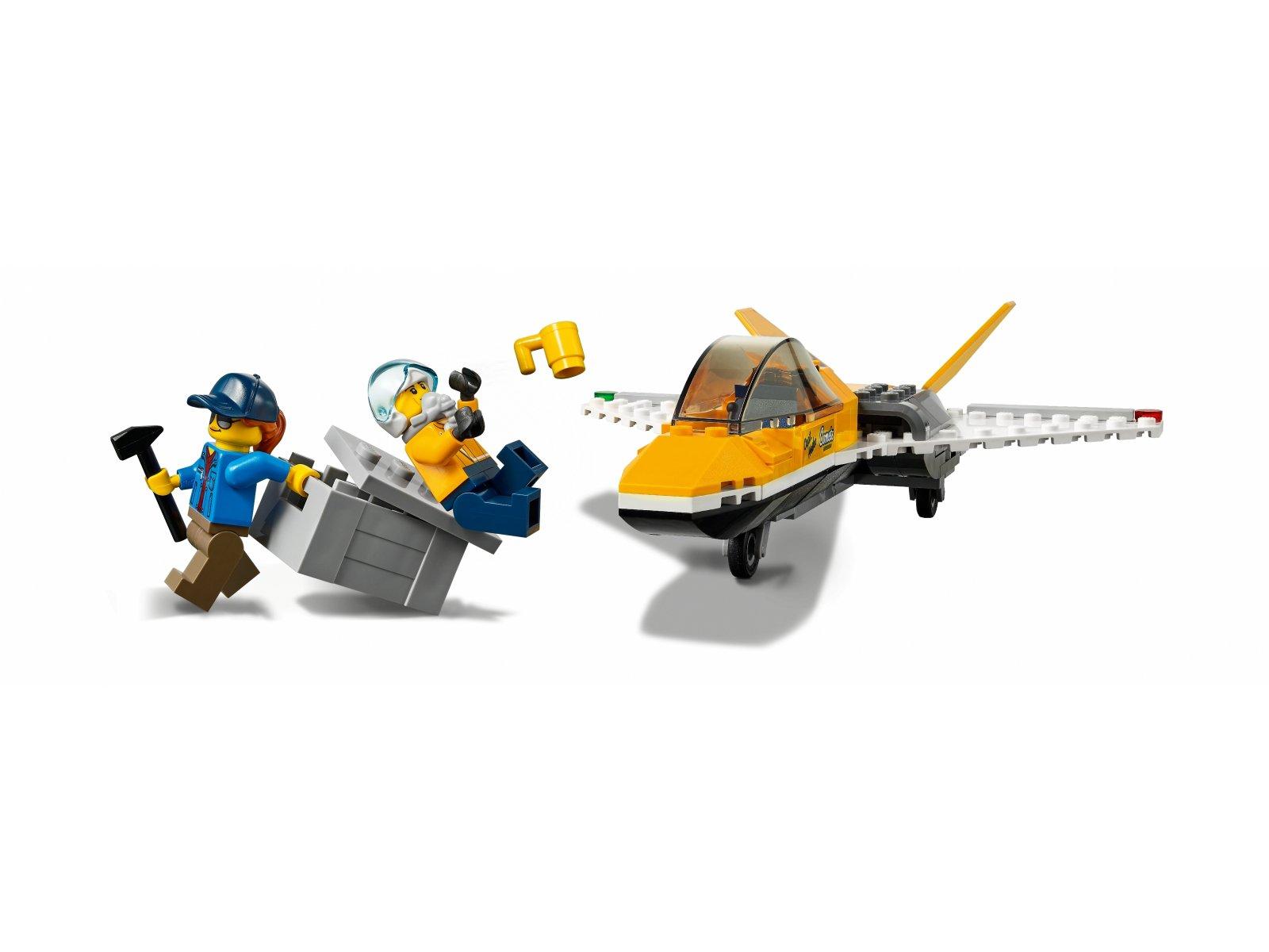 LEGO 60289 City Transporter odrzutowca pokazowego
