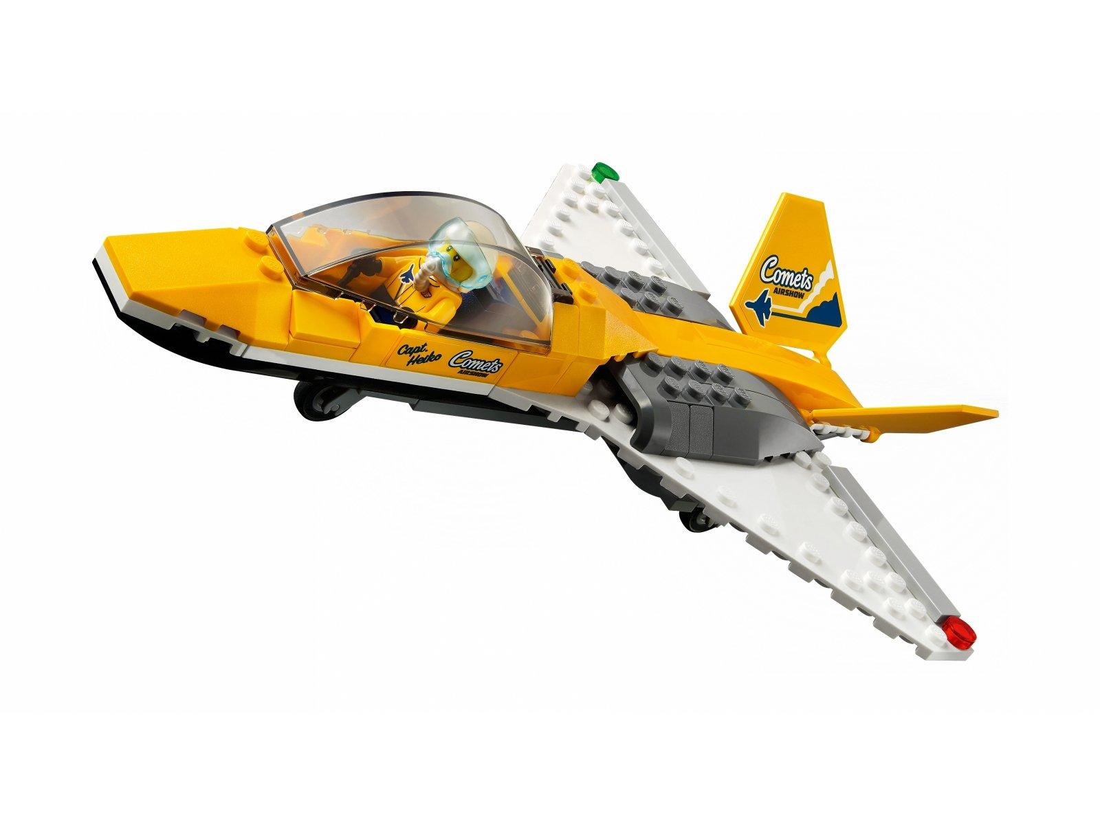 LEGO City Transporter odrzutowca pokazowego 60289