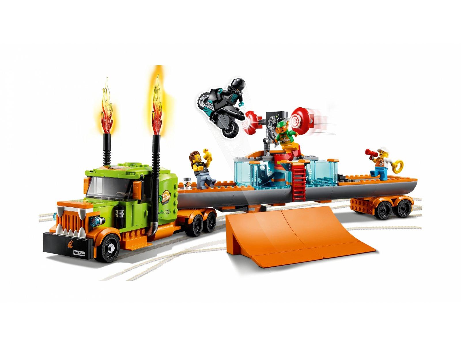 LEGO 60294 Ciężarówka kaskaderska