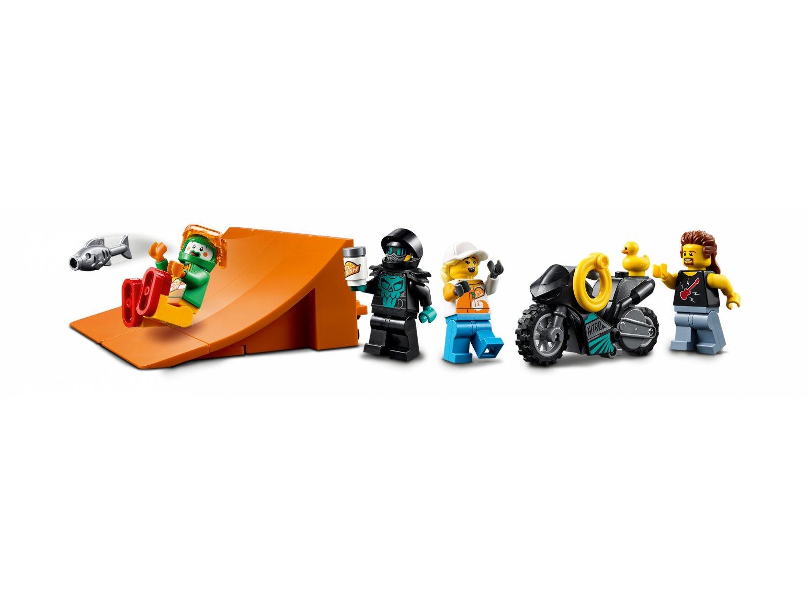 LEGO 60294 City Ciężarówka kaskaderska