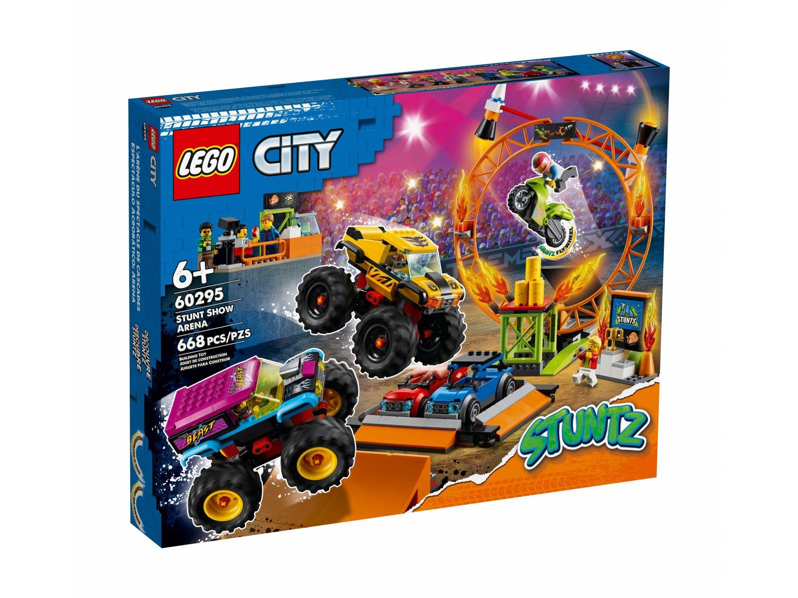 LEGO 60295 Arena pokazów kaskaderskich