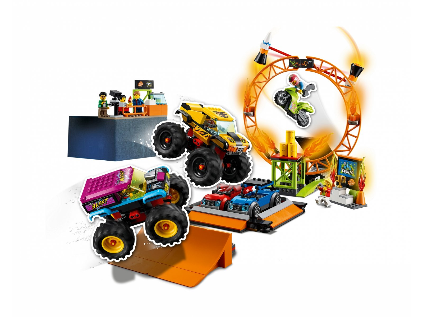 LEGO 60295 City Arena pokazów kaskaderskich
