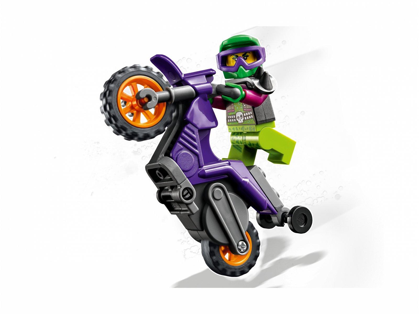 LEGO City Wheelie na motocyklu kaskaderskim 60296