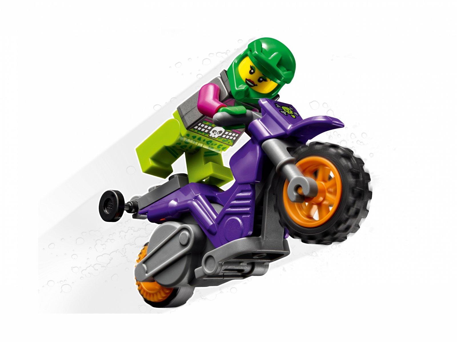 LEGO City 60296 Wheelie na motocyklu kaskaderskim