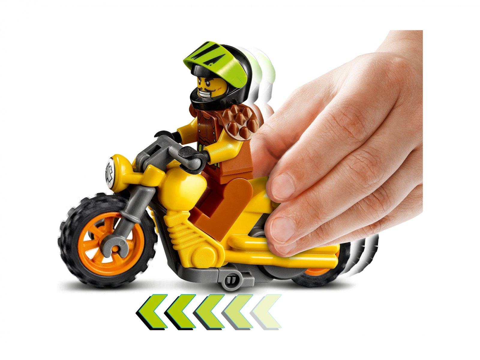 LEGO City Demolka na motocyklu kaskaderskim 60297