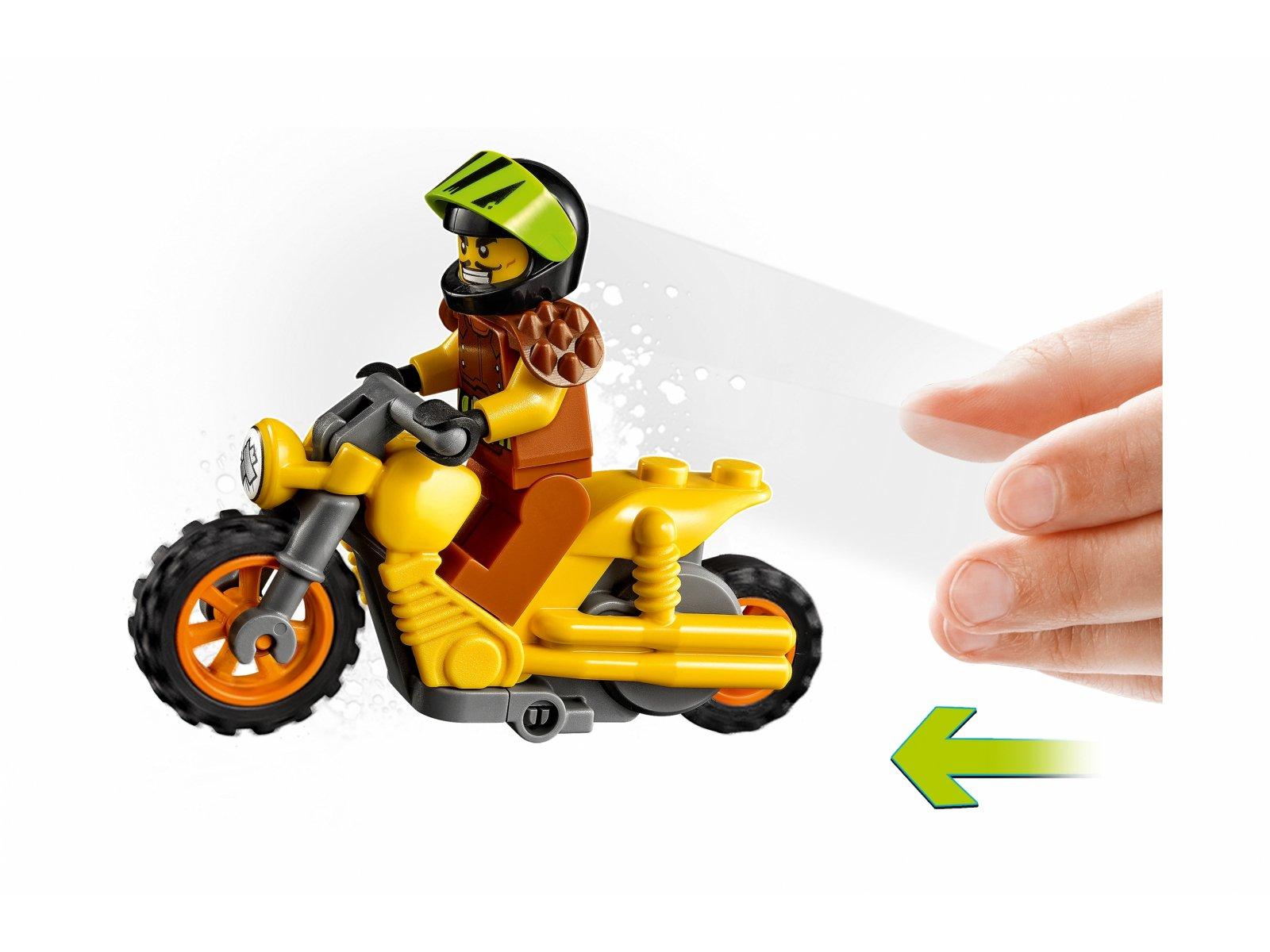 LEGO 60297 City Demolka na motocyklu kaskaderskim