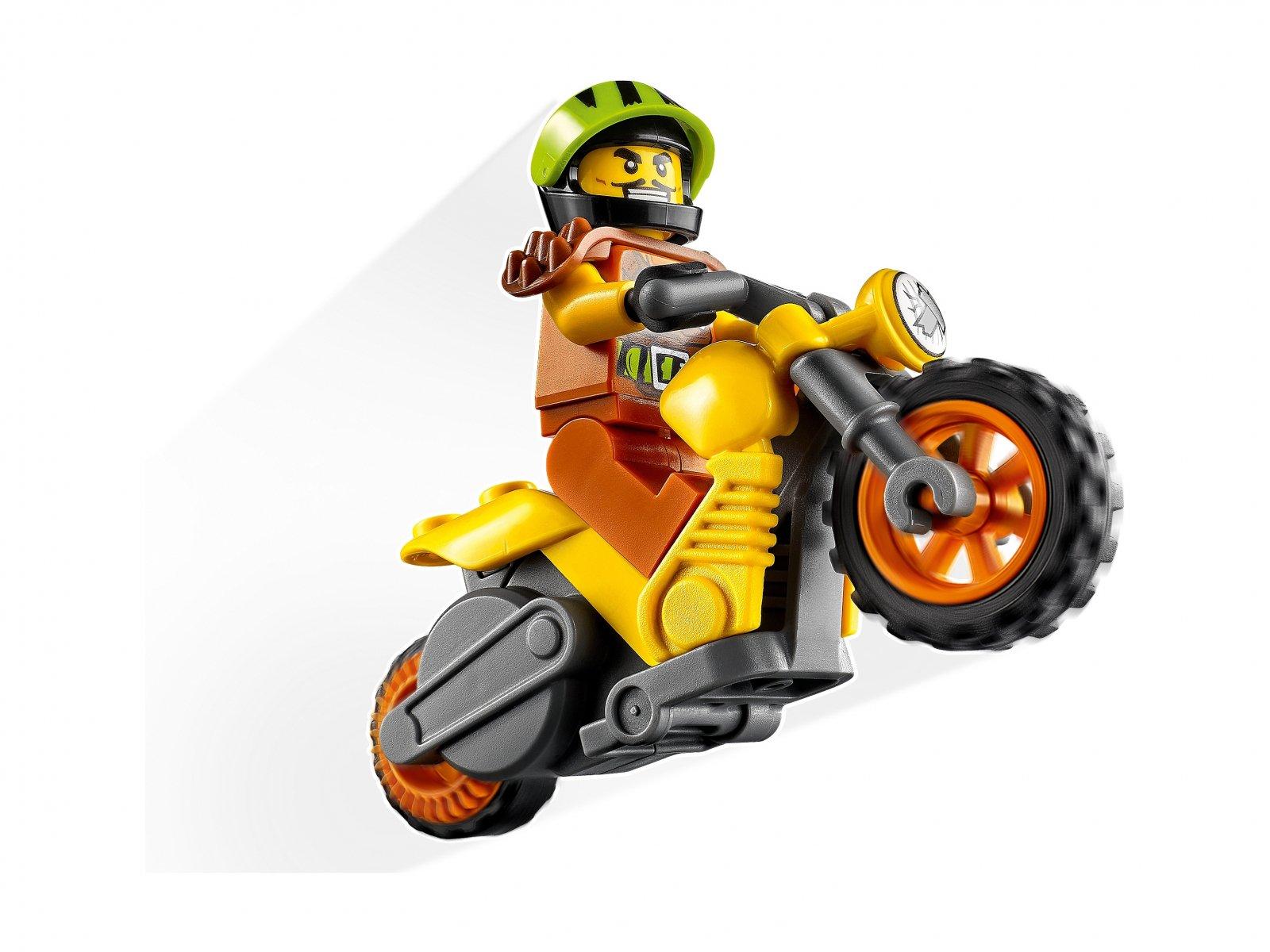 LEGO City 60297 Demolka na motocyklu kaskaderskim