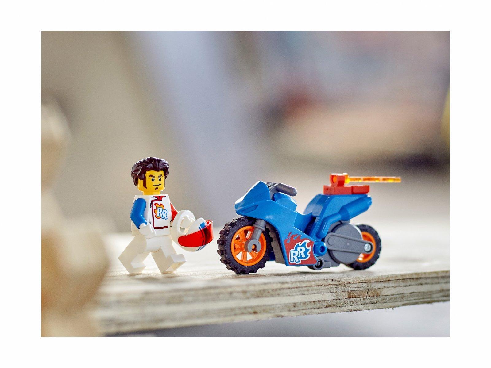LEGO 60298 City Rakietowy motocykl kaskaderski