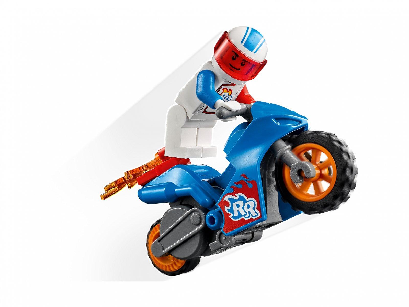 LEGO City Rakietowy motocykl kaskaderski 60298