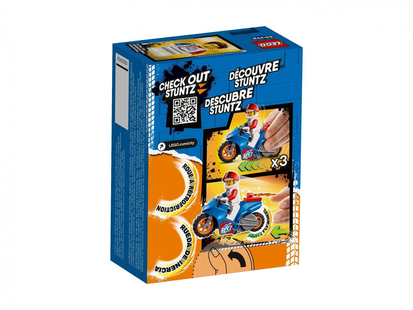 LEGO 60298 Rakietowy motocykl kaskaderski