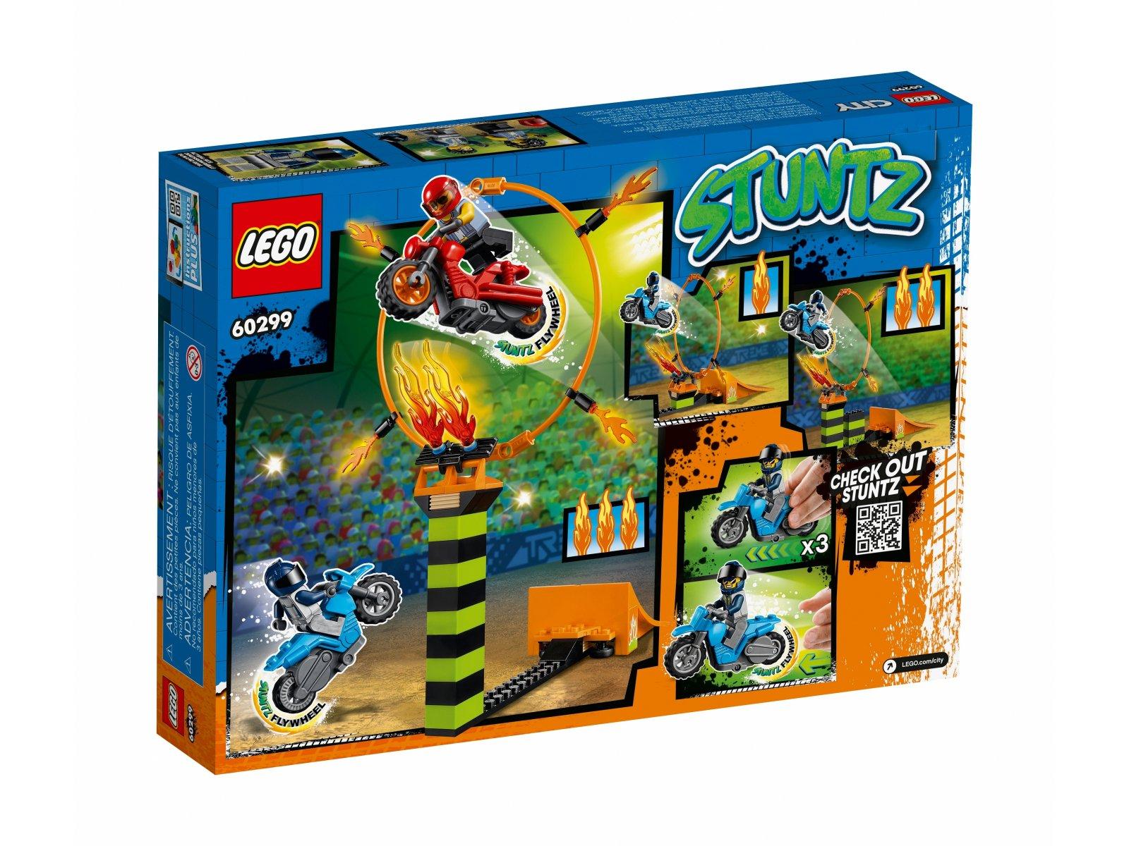 LEGO City 60299 Konkurs kaskaderski