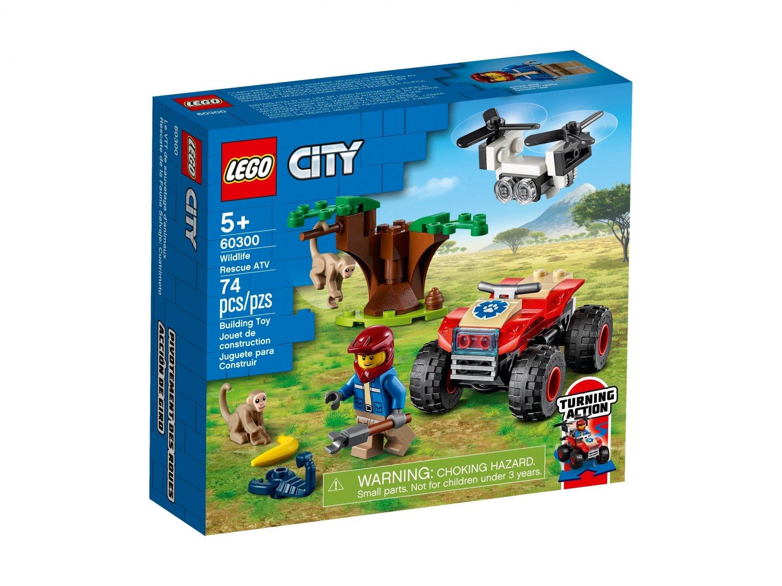 LEGO 60300 Quad ratowników dzikich zwierząt