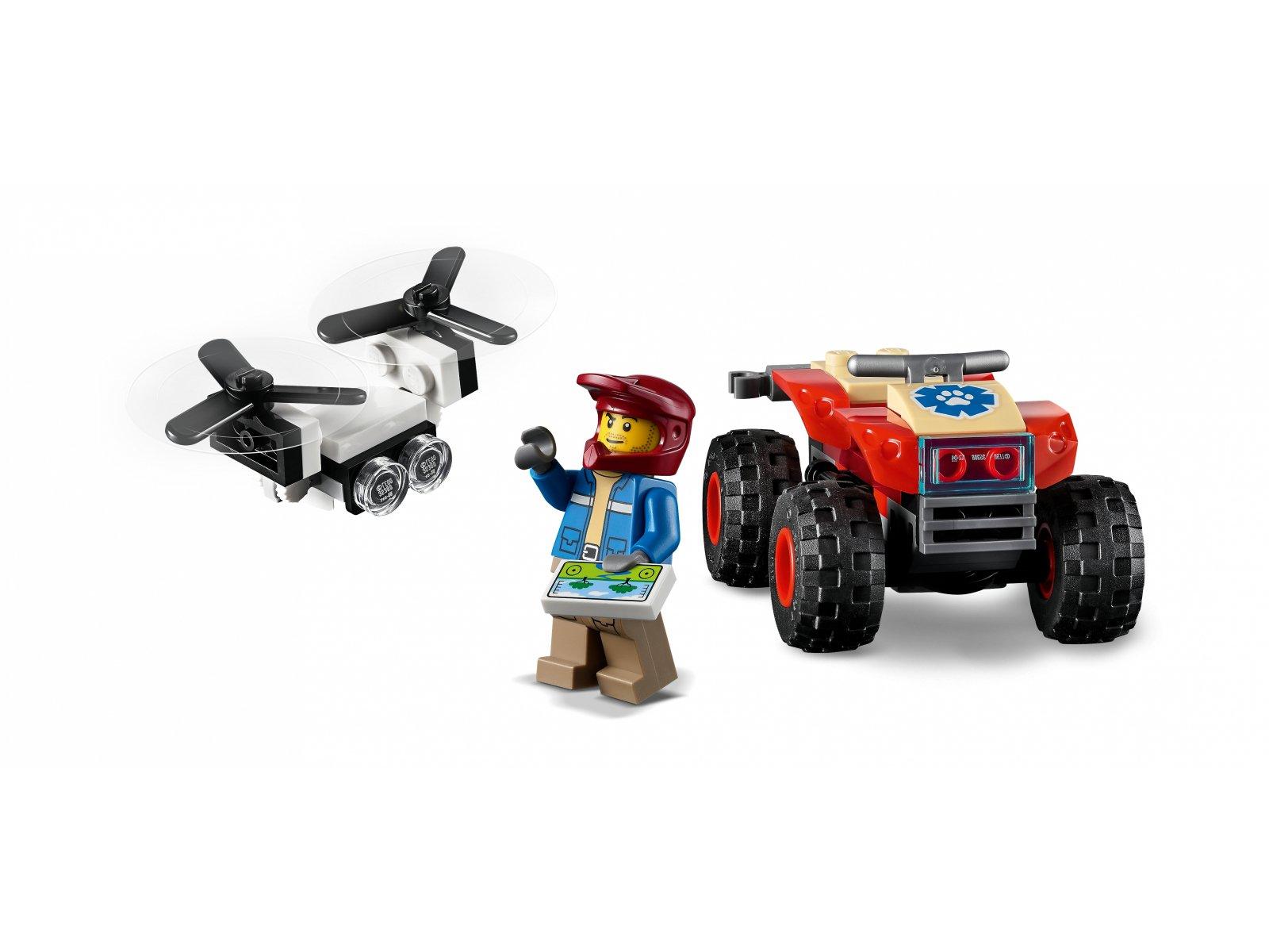 LEGO 60300 City Quad ratowników dzikich zwierząt