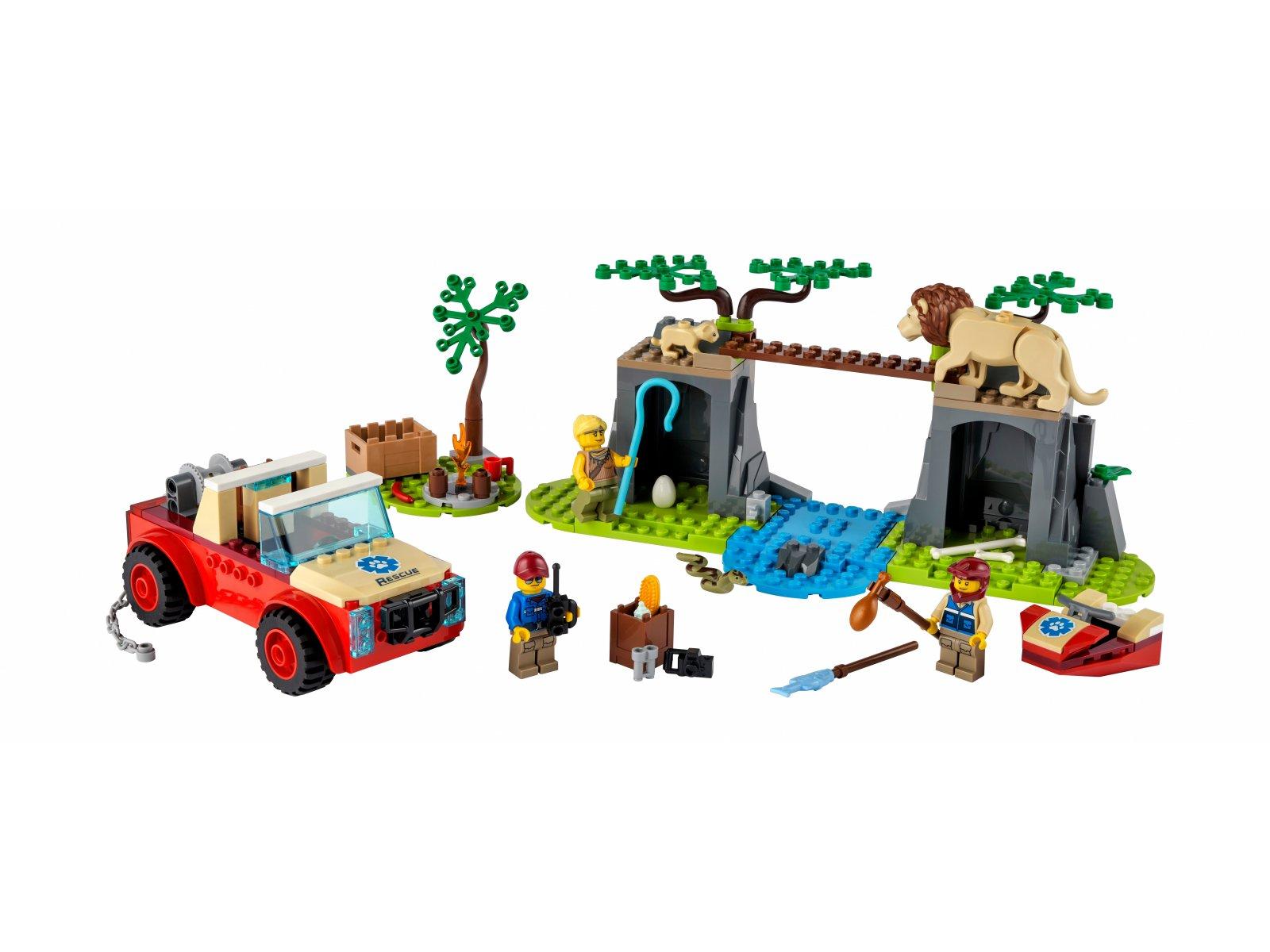 LEGO 60301 Terenówka ratowników dzikich zwierząt