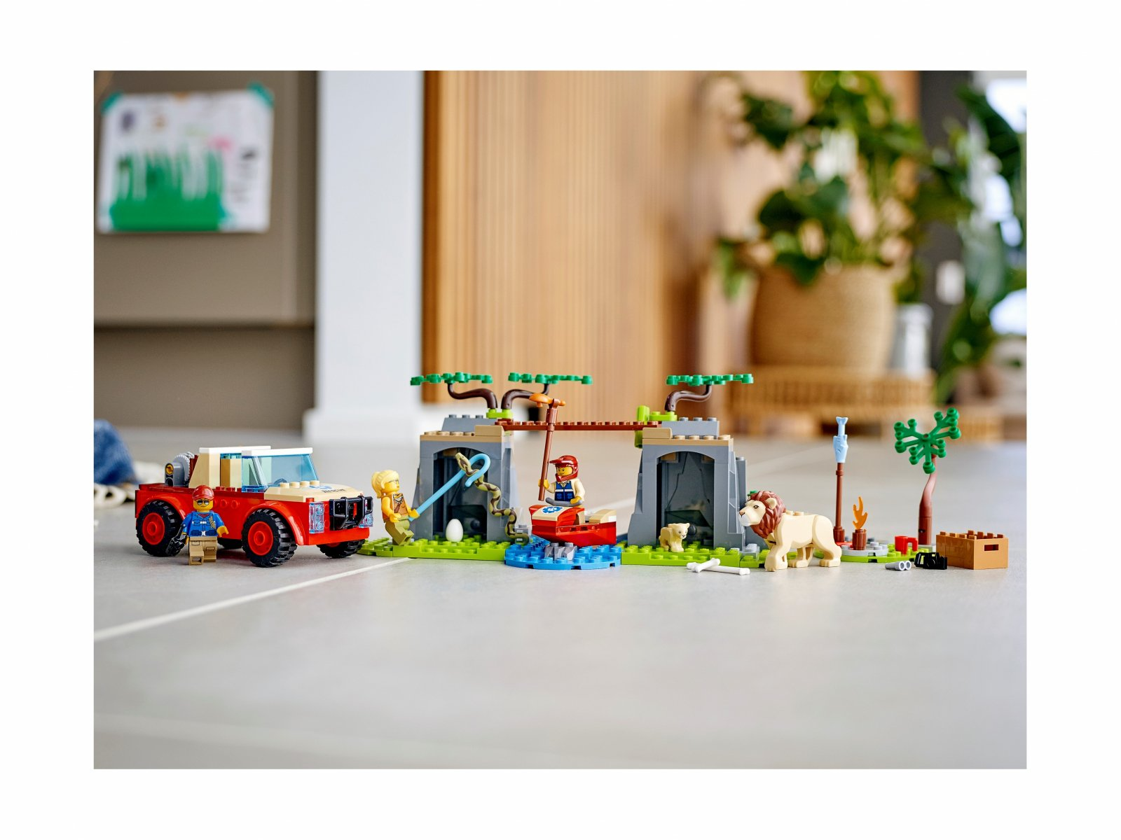 LEGO 60301 City Terenówka ratowników dzikich zwierząt