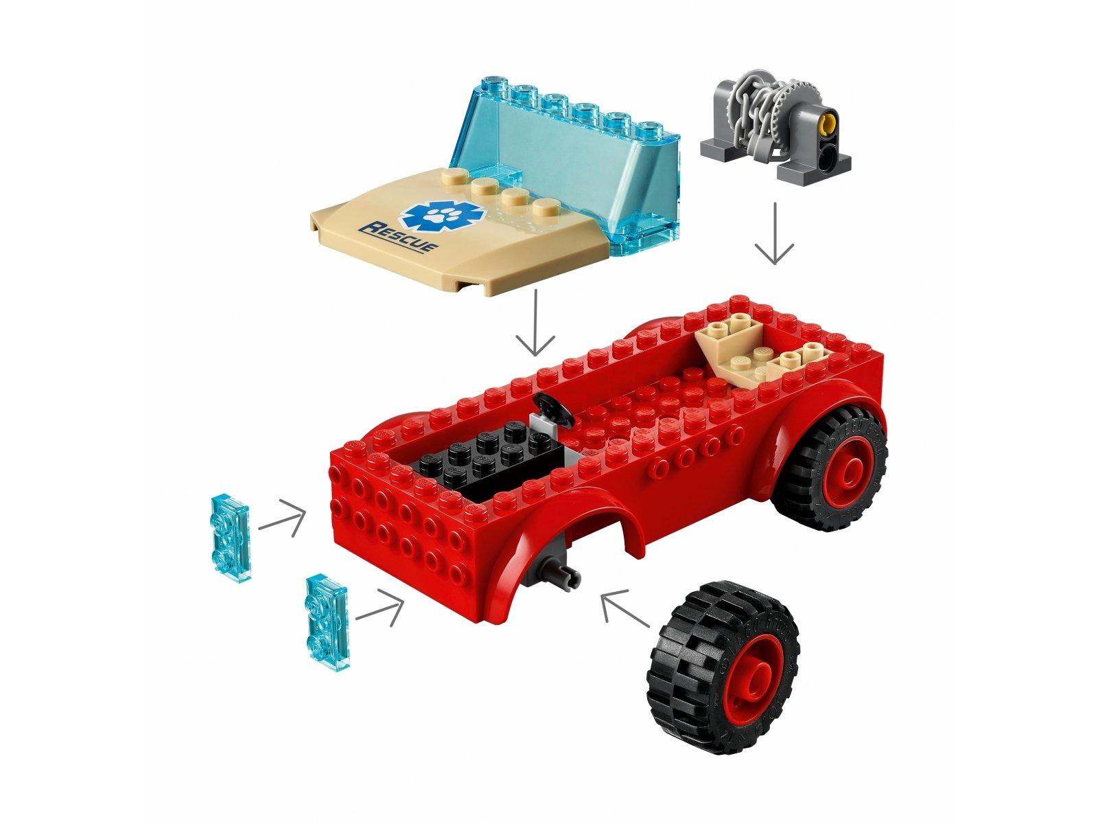 LEGO City 60301 Terenówka ratowników dzikich zwierząt