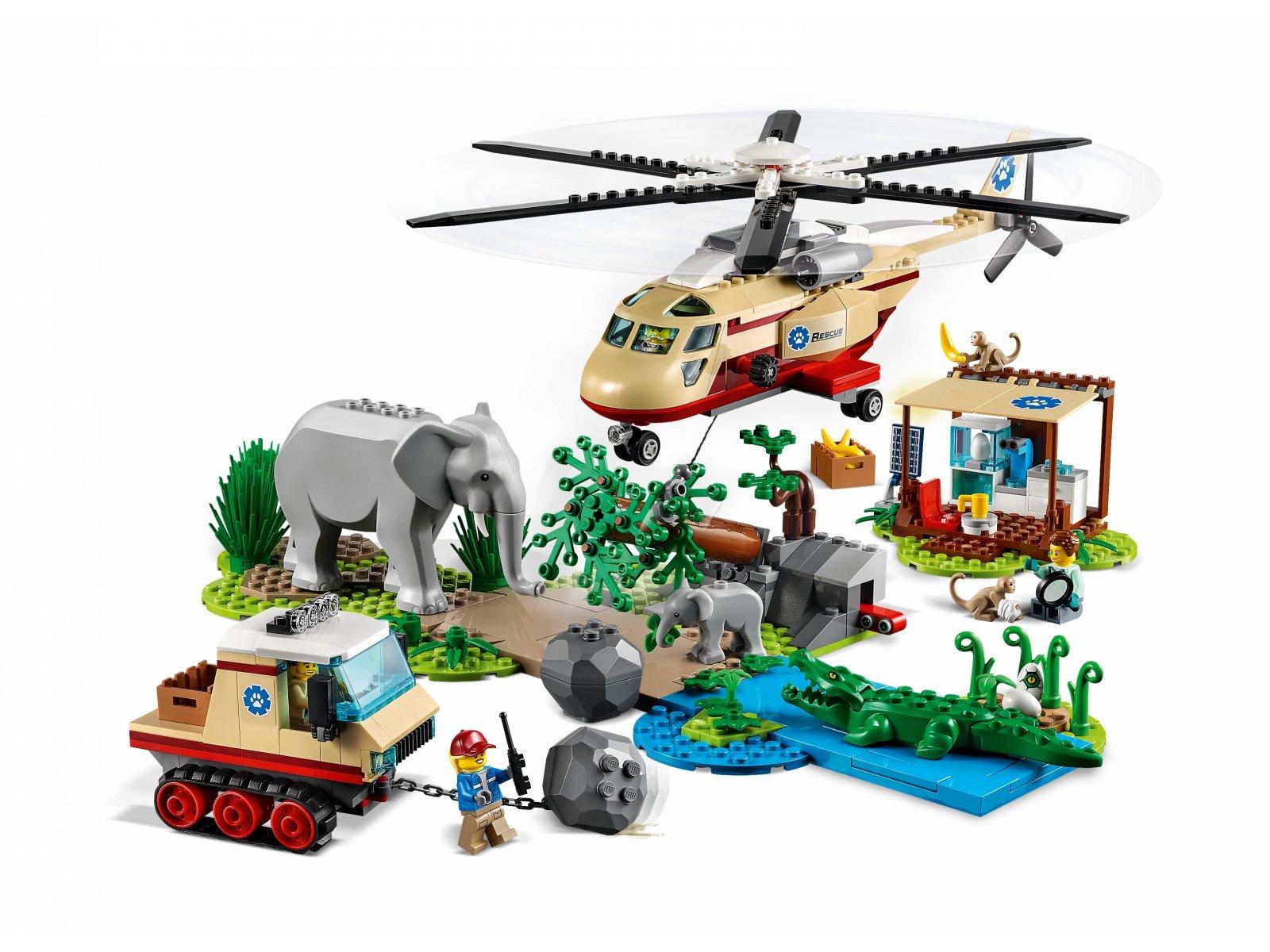 LEGO City Na ratunek dzikim zwierzętom 60302