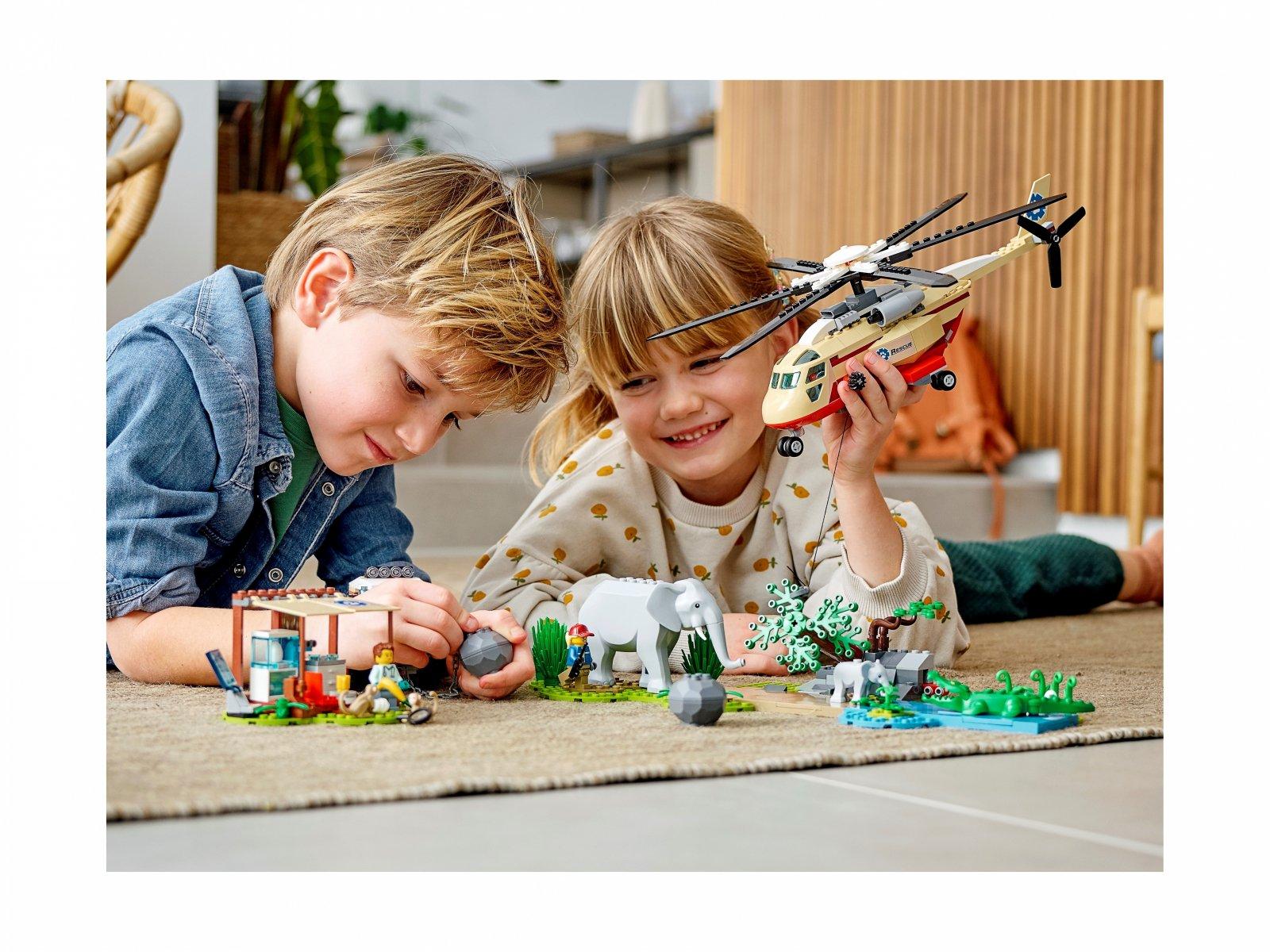 LEGO 60302 City Na ratunek dzikim zwierzętom