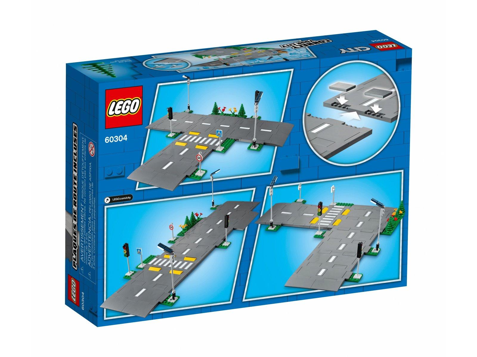 LEGO City Płyty drogowe 60304