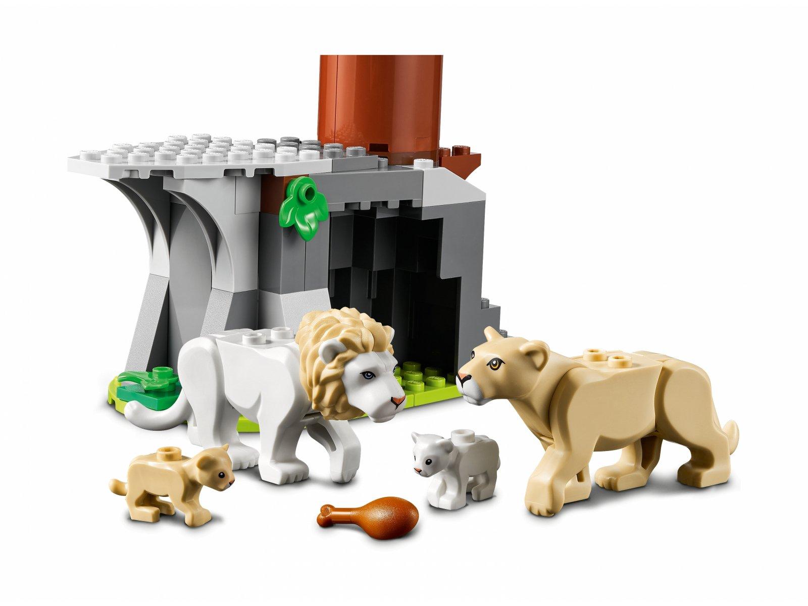 LEGO City Obóz ratowników dzikich zwierząt 60307