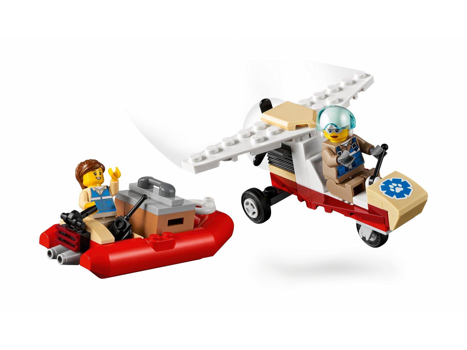 LEGO City 60307 Obóz ratowników dzikich zwierząt