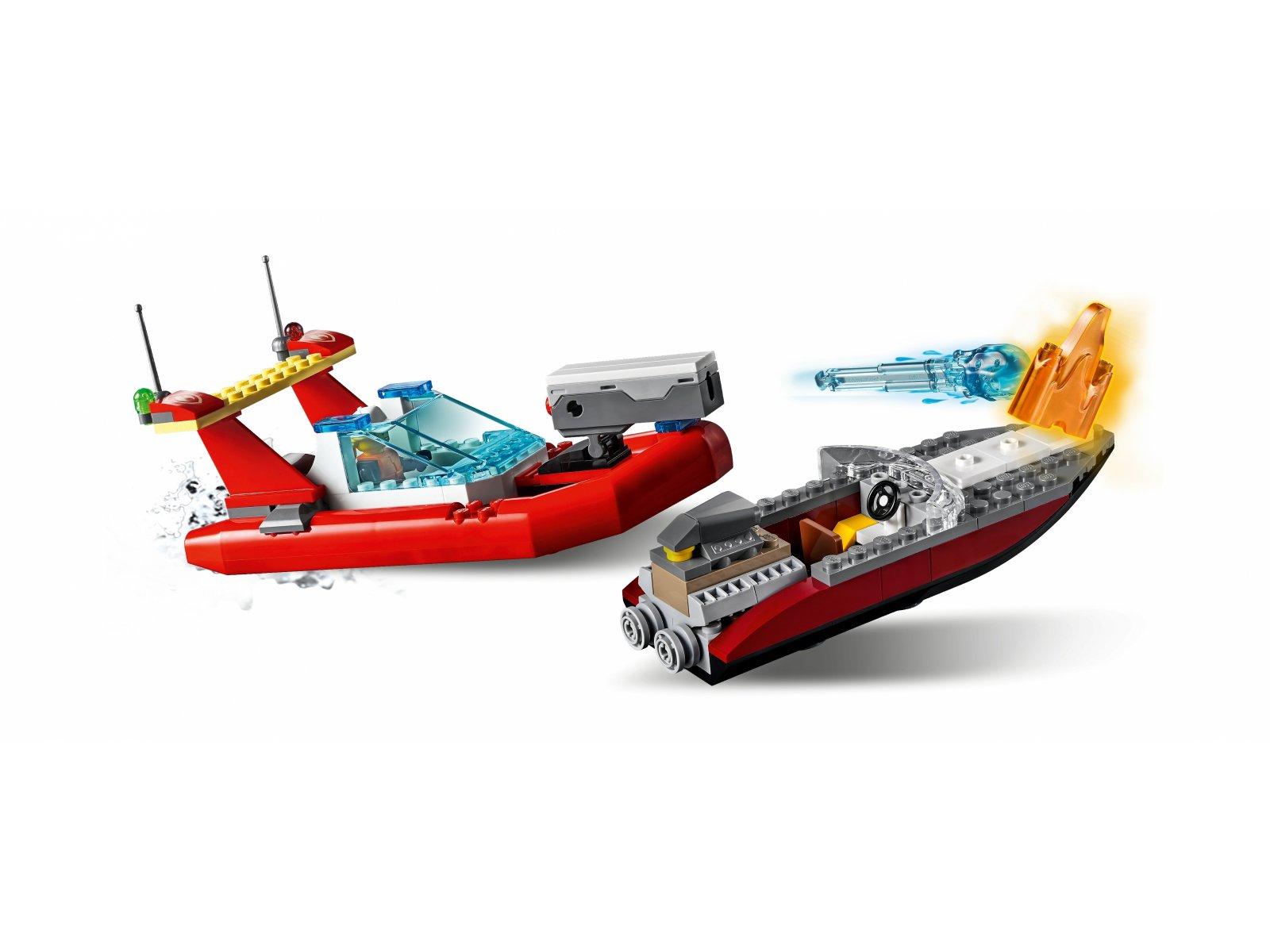 LEGO 60308 City Akcja nadmorskiej policji i strażaków