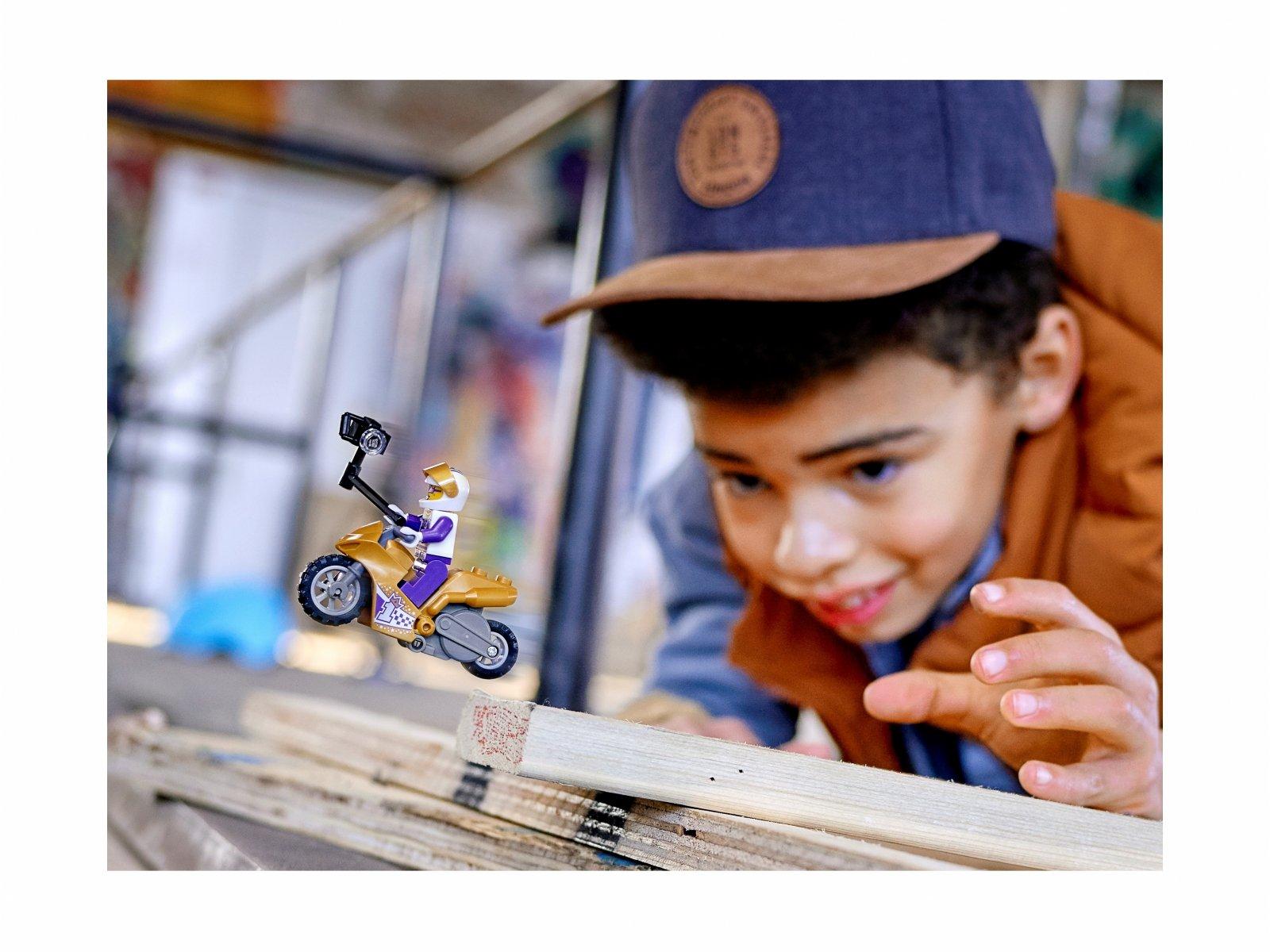 LEGO City 60309 Selfie na motocyklu kaskaderskim