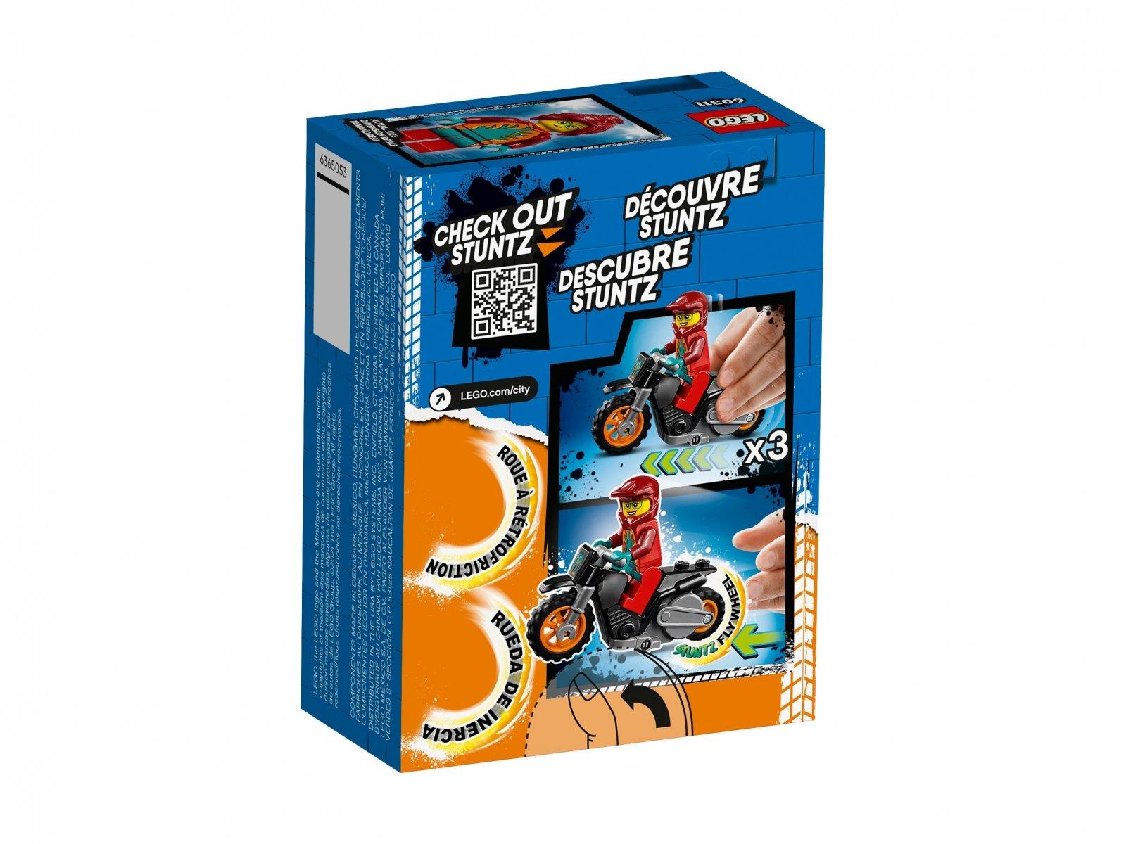 LEGO 60311 Ognisty motocykl kaskaderski