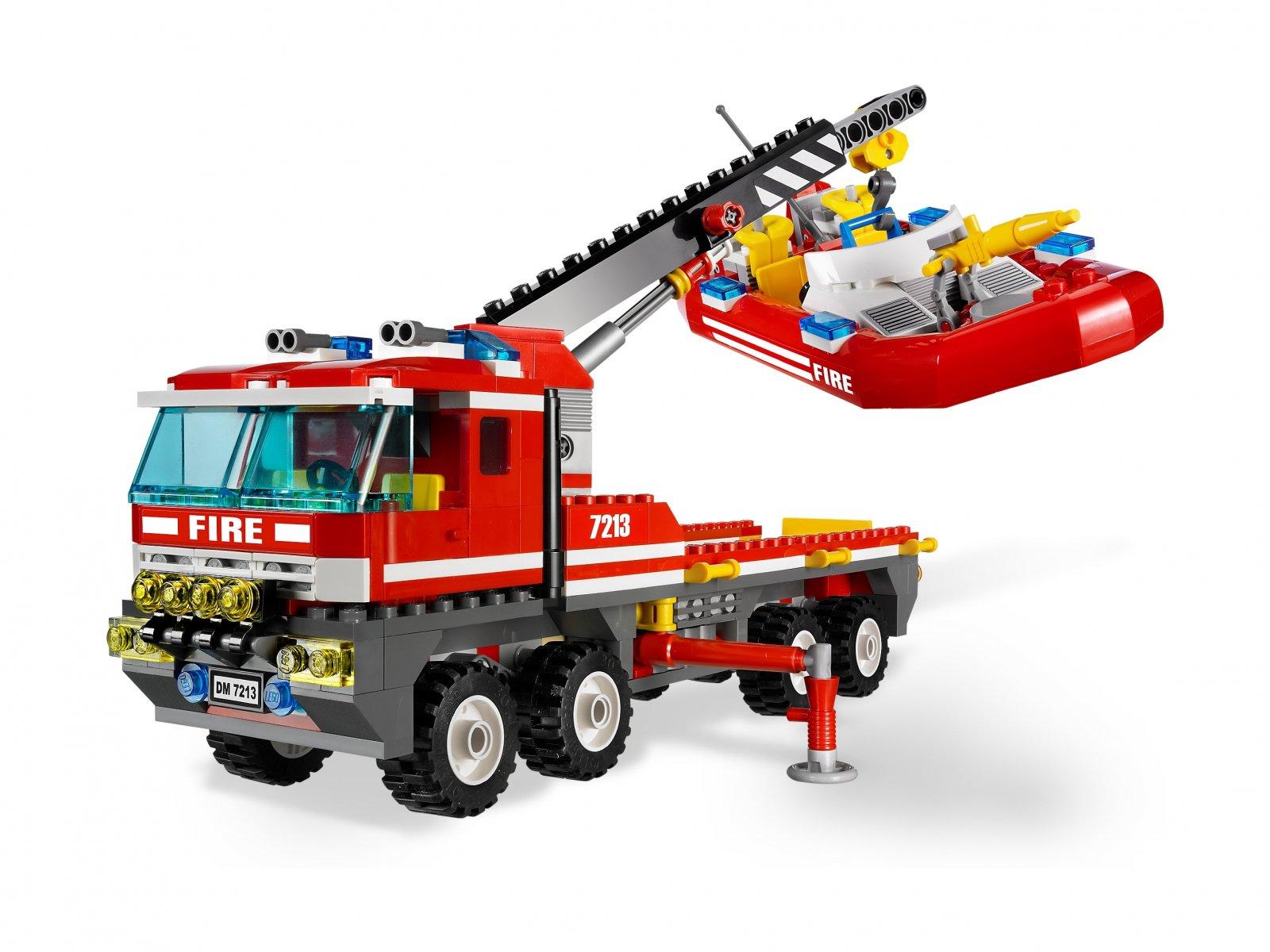 LEGO 7213 Off-Road Fire Truck & Fireboat