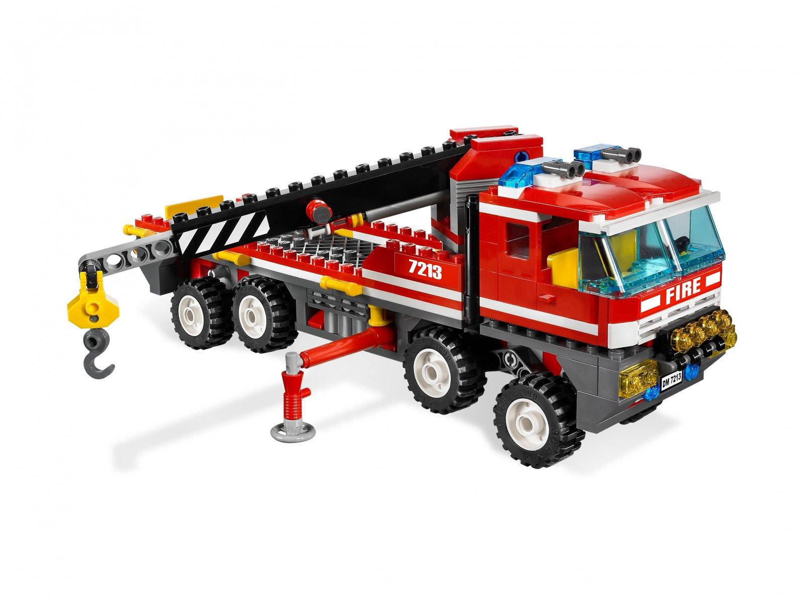 LEGO City Off-Road Fire Truck & Fireboat 7213