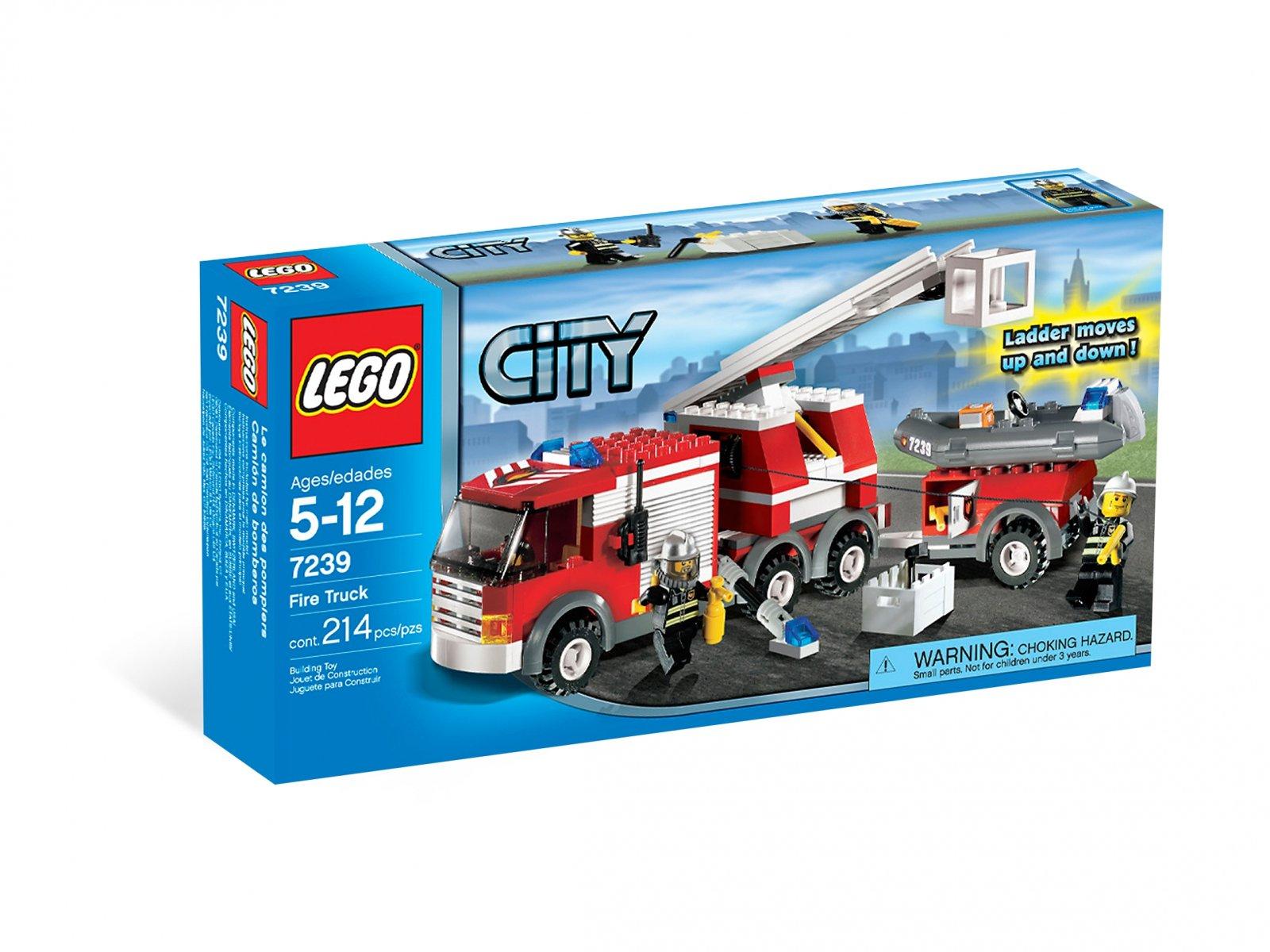 LEGO 7239 City Wóz strażacki