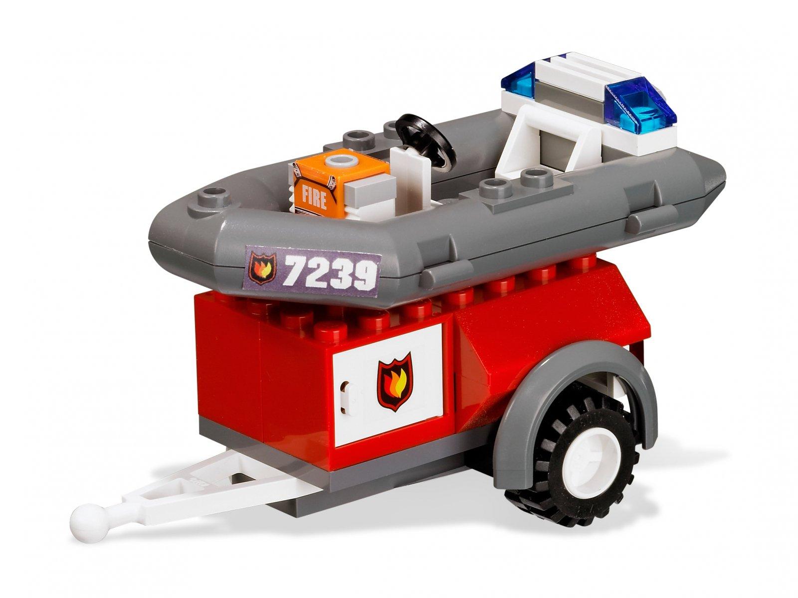 LEGO City Wóz strażacki 7239