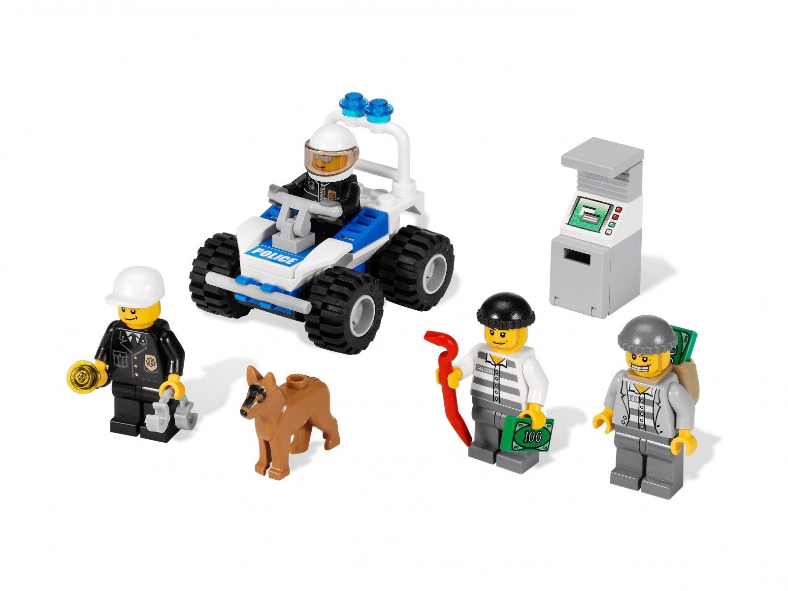 LEGO City Kolekcja minifigurek policyjnych 7279