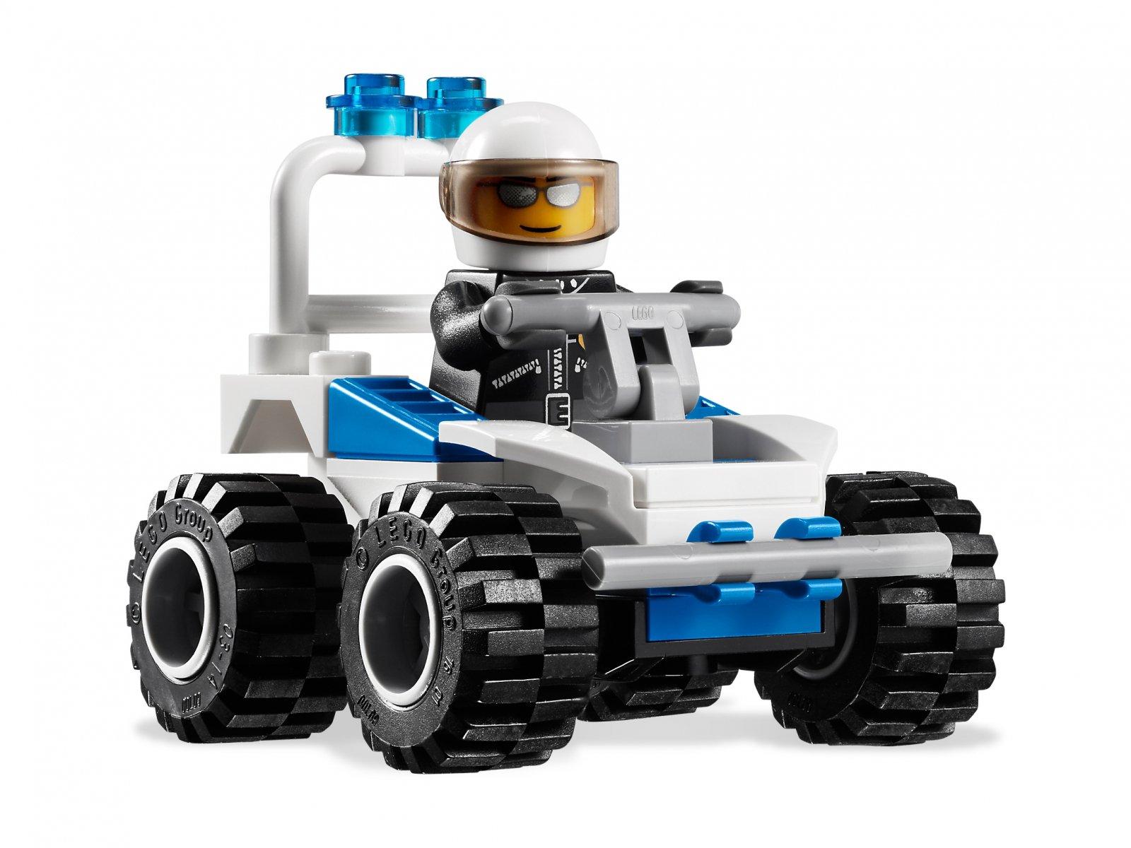 LEGO 7279 Kolekcja minifigurek policyjnych