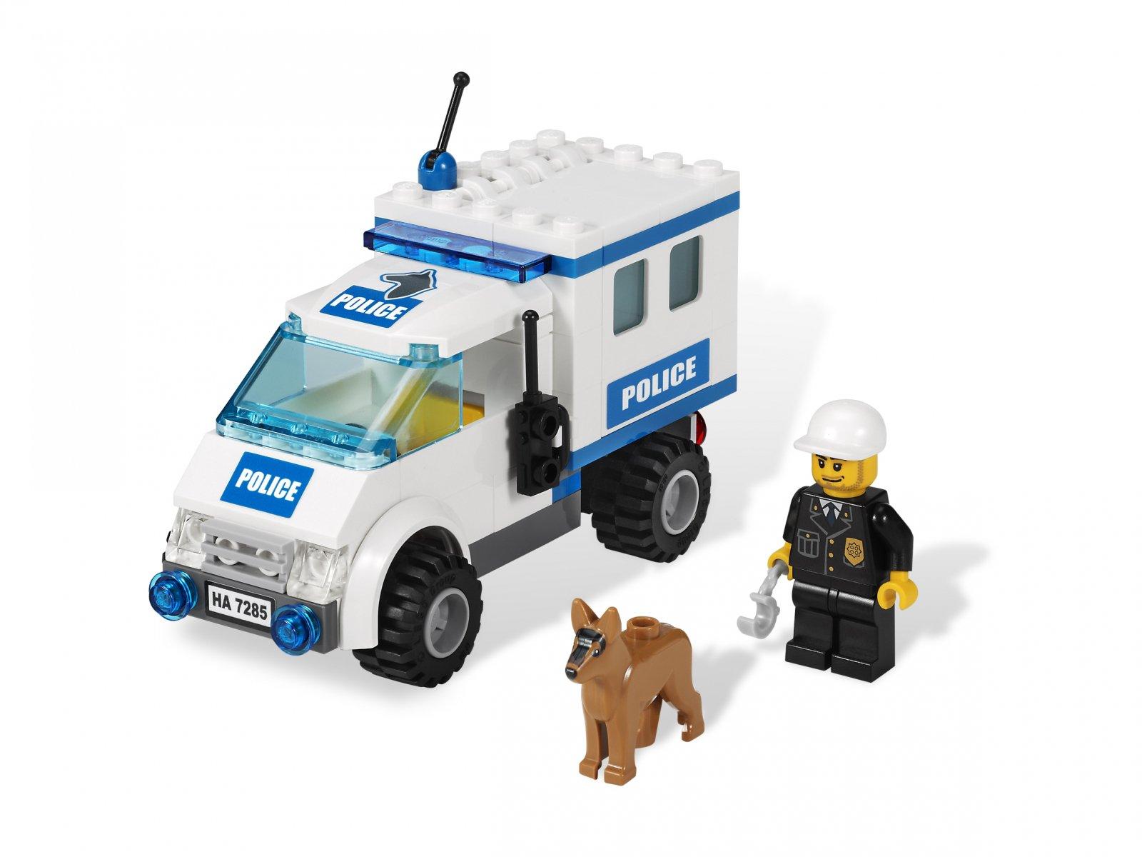 LEGO 7285 Patrol policji z psem