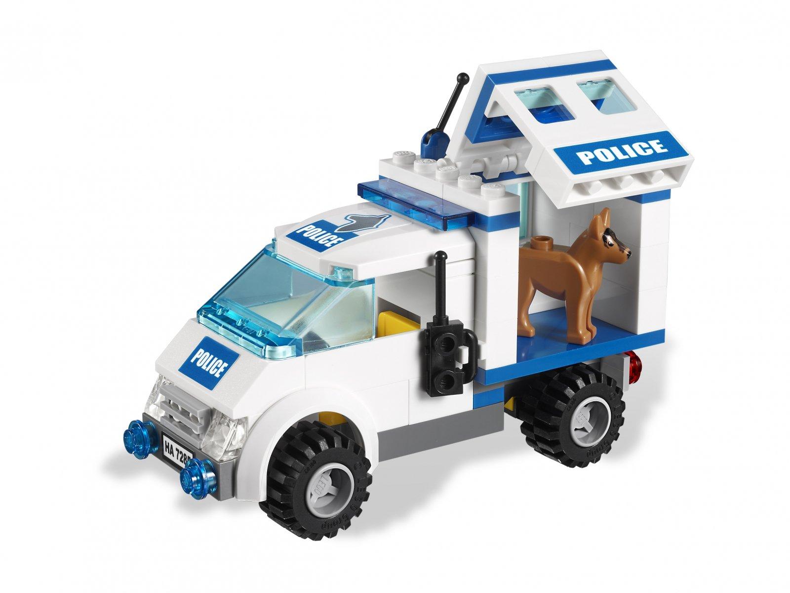 LEGO 7285 City Patrol policji z psem