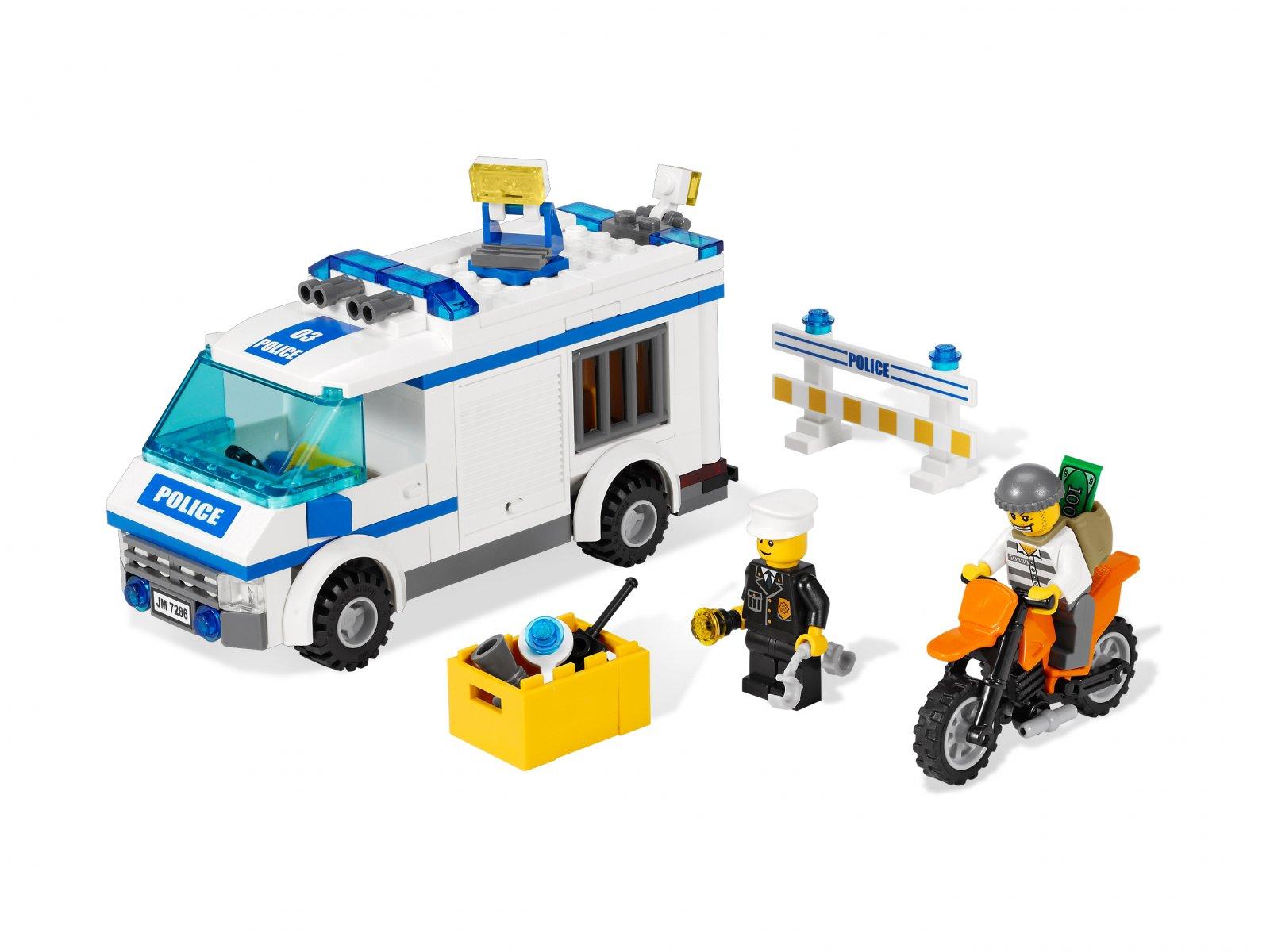 LEGO 7286 City Konwój
