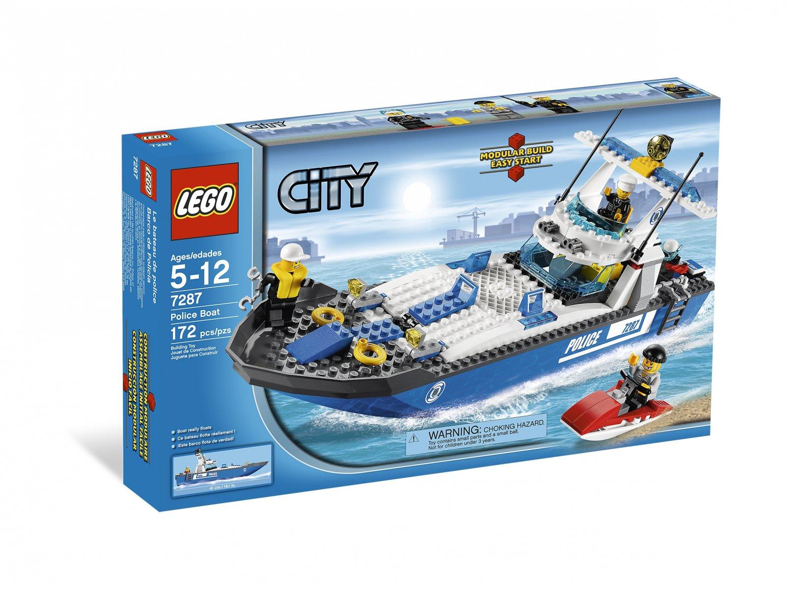 LEGO 7287 Łódź policyjna