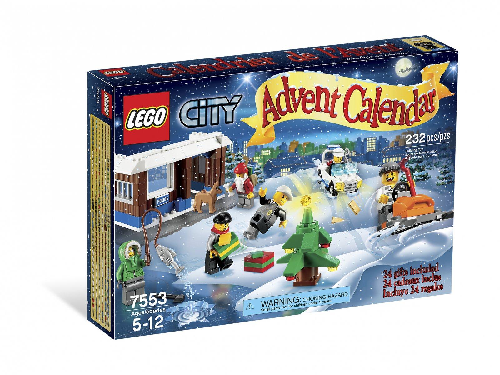 LEGO City Kalendarz adwentowy 7553