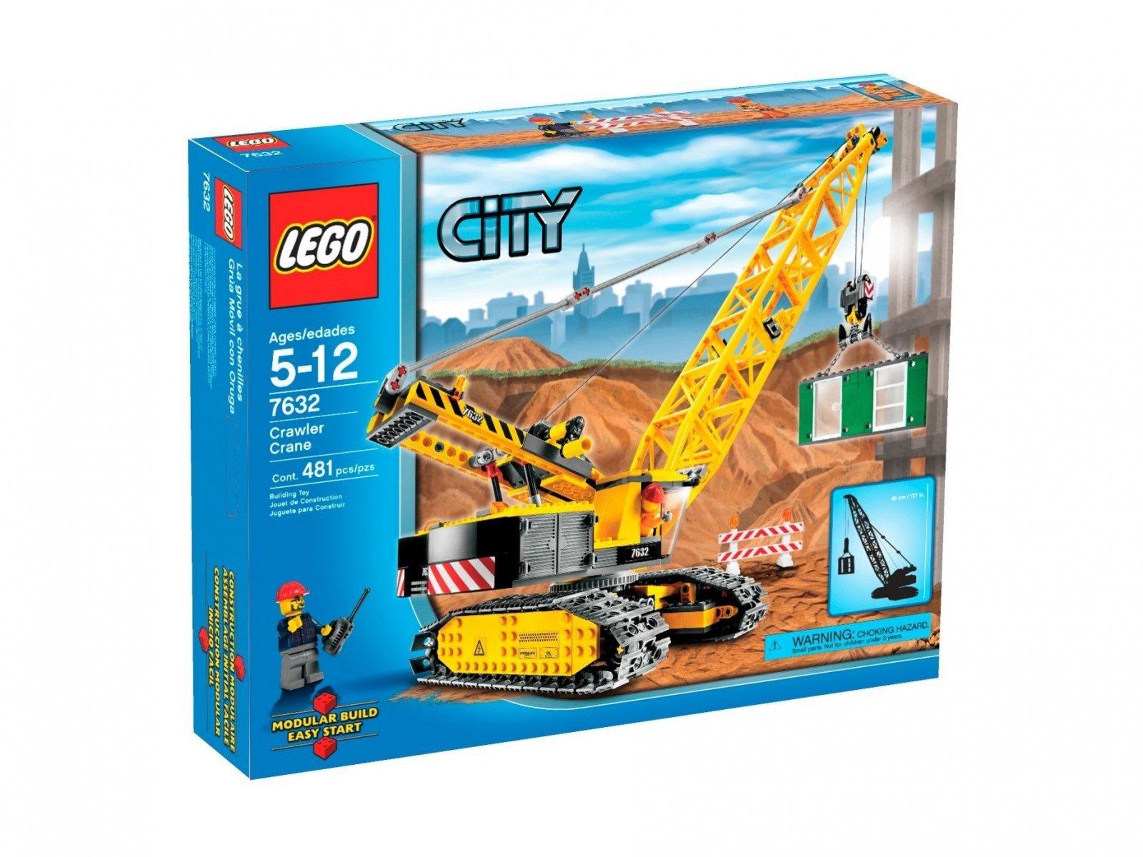 LEGO City Żuraw 7632