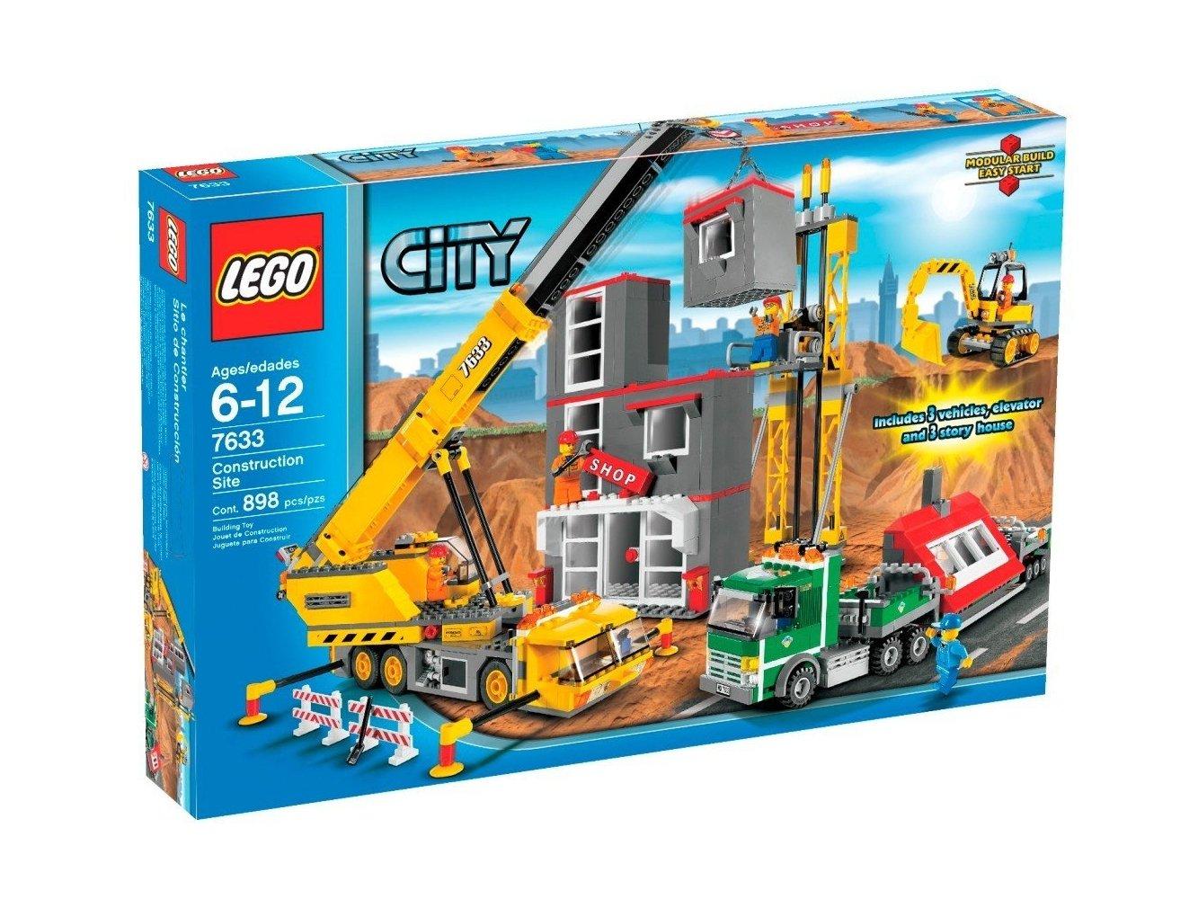 LEGO City Budowa 7633